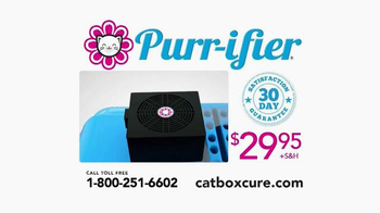 Purr-ifier TV Spot, 'Get Rid of That Kitty Litter Box Odor!' - Thumbnail 7