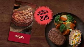 Outback Steakhouse TV Spot, 'Disfruta del pasado' [Spanish] - Thumbnail 1