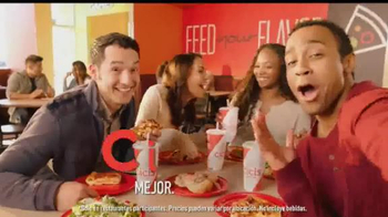 CiCi's Pizzas Flatbread TV Spot, 'Explorar' [Spanish] - 375 commercial airings