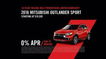 2016 Mitsubishi Outlander Sport TV Spot, 'Outlander Sport Network' - Thumbnail 7