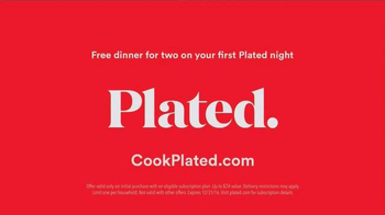 Plated TV Spot, 'From Box to Table: First Dinner for Two Free' - Thumbnail 9
