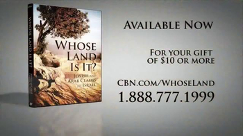 CBN Home Entertainment TV Spot, 'Whose Land Is It?' - Thumbnail 7