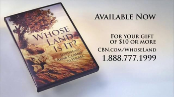 CBN Home Entertainment TV Spot, 'Whose Land Is It?' - Thumbnail 4