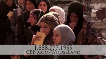CBN Home Entertainment TV Spot, 'Whose Land Is It?' - Thumbnail 6