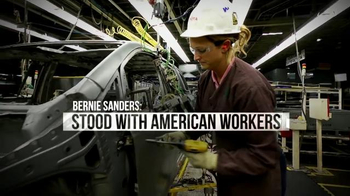 Bernie 2016 TV Spot, 'Stood With American Workers' - Thumbnail 4