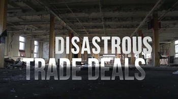 Bernie 2016 TV Spot, 'Disastrous Trade Deals' - Thumbnail 3