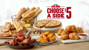 Papa John's $5 Sides TV Spot, 'Delicious Sides' - Thumbnail 5