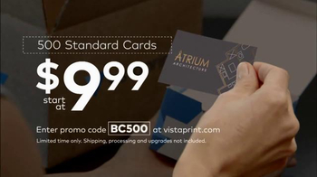 Vistaprint Business Cards TV Spot, 'Architect' - Thumbnail 5