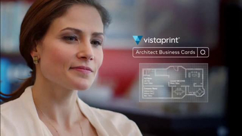 Vistaprint Business Cards TV Spot, 'Architect' - Thumbnail 1