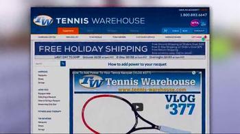 Tennis Warehouse TV Spot, 'Gear Up: Power to Your Racquet' - Thumbnail 9
