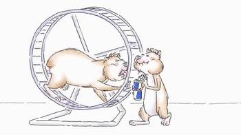Red Bull TV Spot, 'Hamster Wheel' - Thumbnail 2
