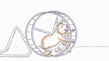 Red Bull TV Spot, 'Hamster Wheel' - Thumbnail 6