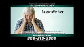 Crumley Roberts TV Spot, 'Social Security Disability' - Thumbnail 2