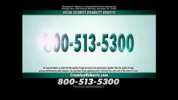 Crumley Roberts TV Spot, 'Social Security Disability' - Thumbnail 3