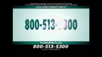 Crumley Roberts TV Spot, 'Social Security Disability' - Thumbnail 5
