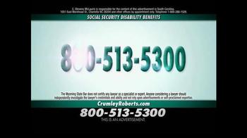 Crumley Roberts TV Spot, 'Social Security Disability' - Thumbnail 7