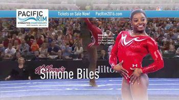 USA Gymnastics TV Spot, 'Pacific Rim Gymnastics Championship' - 60 commercial airings