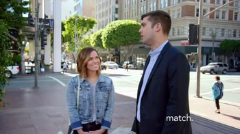 Match.com TV Spot, 'Match on the Street: Jackie Second Dates' - Thumbnail 1