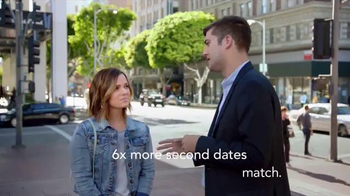 Match.com TV Spot, 'Match on the Street: Jackie Second Dates' - Thumbnail 4