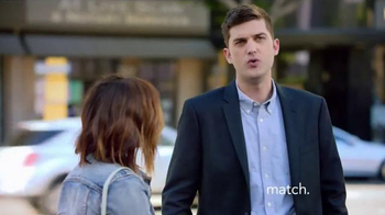 Match.com TV Spot, 'Match on the Street: Jackie Second Dates' - Thumbnail 7