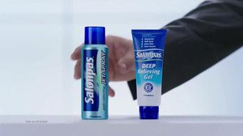 Salonpas DEEP Relieving Gel + Jet Spray TV Spot, 'Long Lasting Pain Relief' - Thumbnail 5