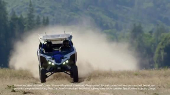 Yamaha YXZ1000R TV Spot, 'Nailed It'
