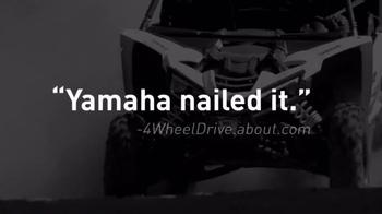 Yamaha YXZ1000R TV Spot, 'Nailed It' - Thumbnail 3