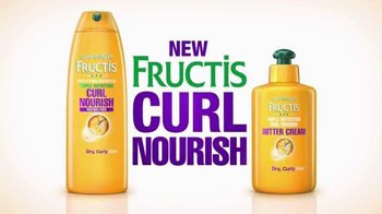 Garnier Fructis Curl Nourish TV Spot, 'Triple Nutrition' Song by Goldfrapp - Thumbnail 3