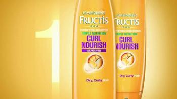 Garnier Fructis Curl Nourish TV Spot, 'Triple Nutrition' Song by Goldfrapp - Thumbnail 5