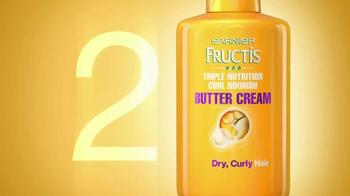 Garnier Fructis Curl Nourish TV Spot, 'Triple Nutrition' Song by Goldfrapp - Thumbnail 7
