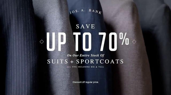 JoS. A. Bank Four Day Clothing Event TV Spot, 'Suits & Sportcoats' - Thumbnail 3