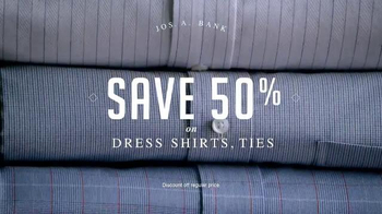 JoS. A. Bank Four Day Clothing Event TV Spot, 'Suits & Sportcoats' - Thumbnail 4