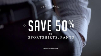 JoS. A. Bank Four Day Clothing Event TV Spot, 'Suits & Sportcoats' - Thumbnail 5