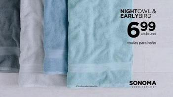 Kohl's TV Spot, 'SONOMA Goods for Life: Night Owls & Early Birds' [Spanish] - Thumbnail 7