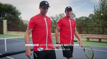 Tennis Warehouse TV Spot, 'Bryan Brothers and the Improve Section' - 22 commercial airings