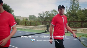 Tennis Warehouse TV Spot, 'Bryan Brothers and the Improve Section' - Thumbnail 2