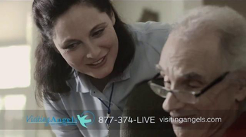 Visiting Angels TV Spot, 'A Caring Career' - Thumbnail 4