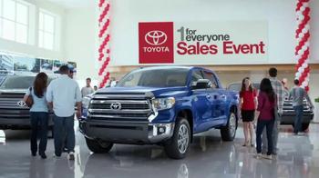 Toyota 1 for Everyone Sales Event TV Spot, 'Horses' - Thumbnail 1
