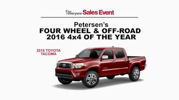 Toyota 1 for Everyone Sales Event TV Spot, 'Horses' - Thumbnail 6