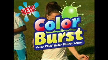Battle Balloons Color Burst TV Spot, 'Burst Into the Future' - 2994 commercial airings