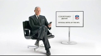 Courtyard Marriott TV Spot, 'Rich Eisen's Advice for Football Commissioner' - 112 commercial airings