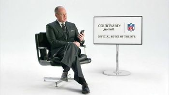 Courtyard Marriott TV Spot, 'Rich Eisen's Advice for Flag Football Game' - 266 commercial airings
