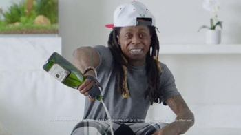 Samsung Galaxy S7 Edge TV Spot, 'Champagne Calls' Featuring Lil Wayne - 1877 commercial airings