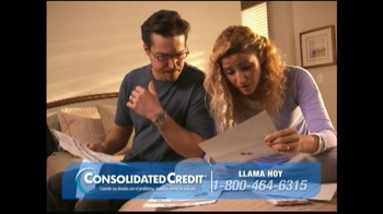 Consolidated Credit Counseling Services TV Spot, 'Interés' [Spanish] - Thumbnail 1