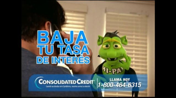 Consolidated Credit Counseling Services TV Spot, 'Interés' [Spanish]