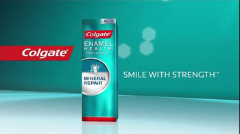 Colgate Mineral Repair TV Spot, 'Healthy Teeth Starts With Strong Enamel' - Thumbnail 9
