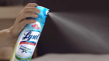 Lysol Max Cover TV Spot, 'Bacteria Family' - Thumbnail 7