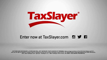 TaxSlayer.com TV Spot, '30 Days of Tax Swag: Taxidermy Tiger Rat Thing' - Thumbnail 3