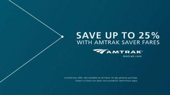 Amtrak TV Spot, '500 Destinations. Infinite Stories.' - Thumbnail 9