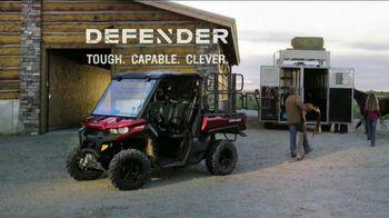 Can-Am Defender TV Spot, 'Work'